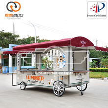 BBQ Food Concession Vending Trailer with Serving Window