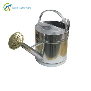 Custom round garden galvanized watering can