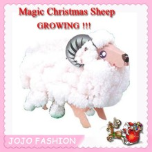 wholesale magic paper sheep christmas growing toy