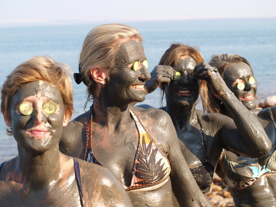 Original Dead Sea Healing Black MUD Face and Body Available with Fragrance