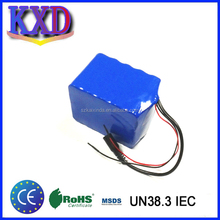 Lithium 18650 12v rechargeable battery pack 100wh