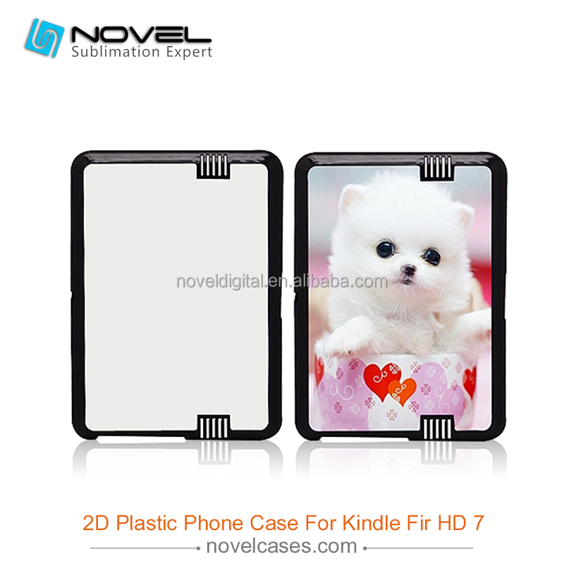 Plastic Sublimation Phone Case for Kindle Fire HD 7""