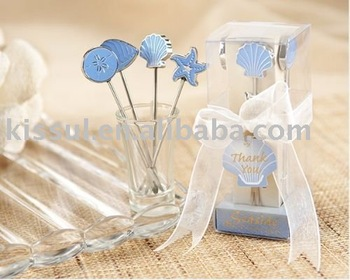 Wedding favor gifts Seaside Hors d'oeuvre Picks for Bridal showers