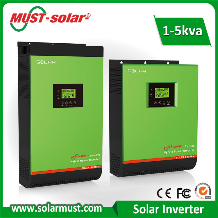 Hot Sale 5KVA Hybrid Solar Power Inverter with MPPT Charge Controller for Solar Power System
