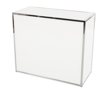 White Plexiglass Bar PB02