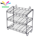 Supermarket wire flooring Counter metal candy food battery display rack