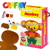 Safty materials manufacturers create your sewing animal Monkey