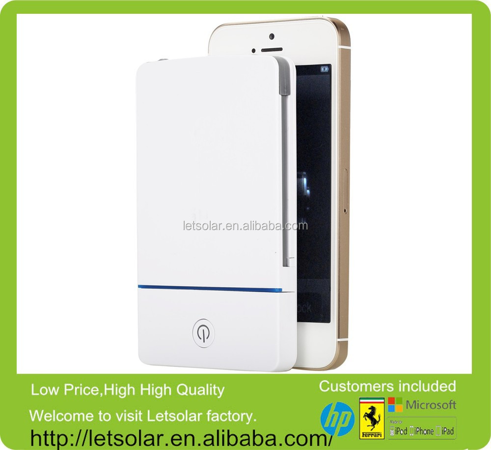 LP53 ,travel power bank charger,solar power battery case for iphone 6 & iphone5s iPad & outdoor electronics