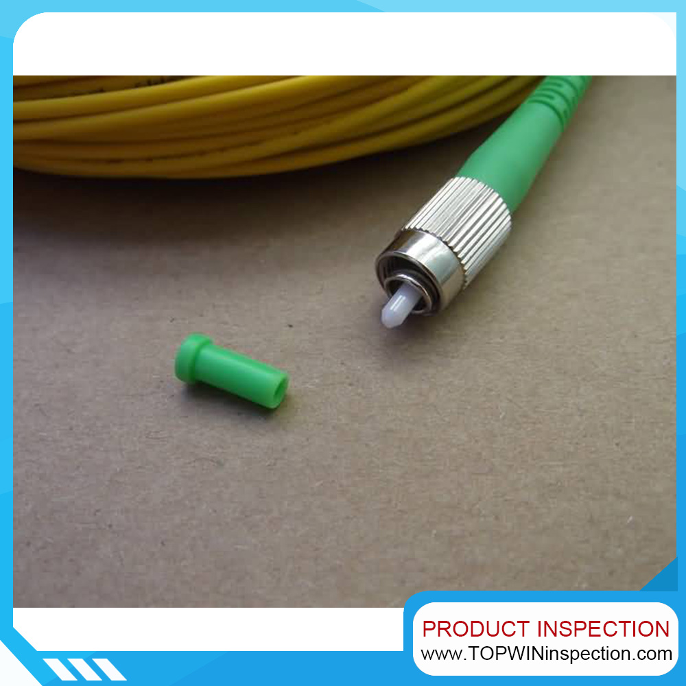 Inspection services of Fiber optic patch cord and adaptor in China
