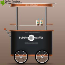 Competetive price movable street food cart for sale, motor tricycle food cart, motor tricycle mobile food cart