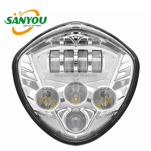 2017 hot sale victory led motorcycle headlight fit for polaris led headlamp for motorcycle
