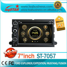 LSQ Star Ford Mustang autoradio gps navigation with 3G dual zone PIP function good quality