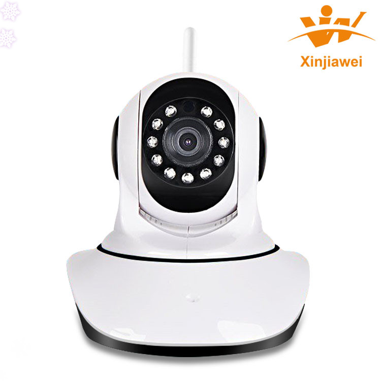 Auto Track Mini Dome HD H.264 P2P 1MP IP Network IR Zoom Business Security Camera Cam