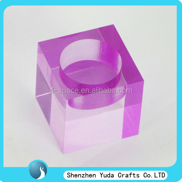 purple color candles display stand as an gift