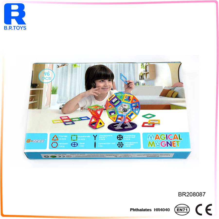 Factory Directly Provide High Quality Plastic Magformers Toy