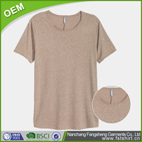 Wholesale personalized solid color o-neck short sleeve bamboo plain women bulk t-shirt sales