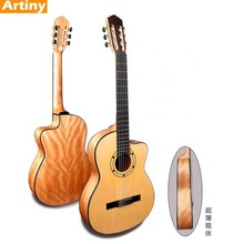 39'' plywood thin mahogany body classic wooden Guitar wholesale instruments music guangzhou oem Free shipping