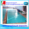 Waterproof pvc plastic tarpaulin for truck cover,pallet cover,pet cage cover from China factory