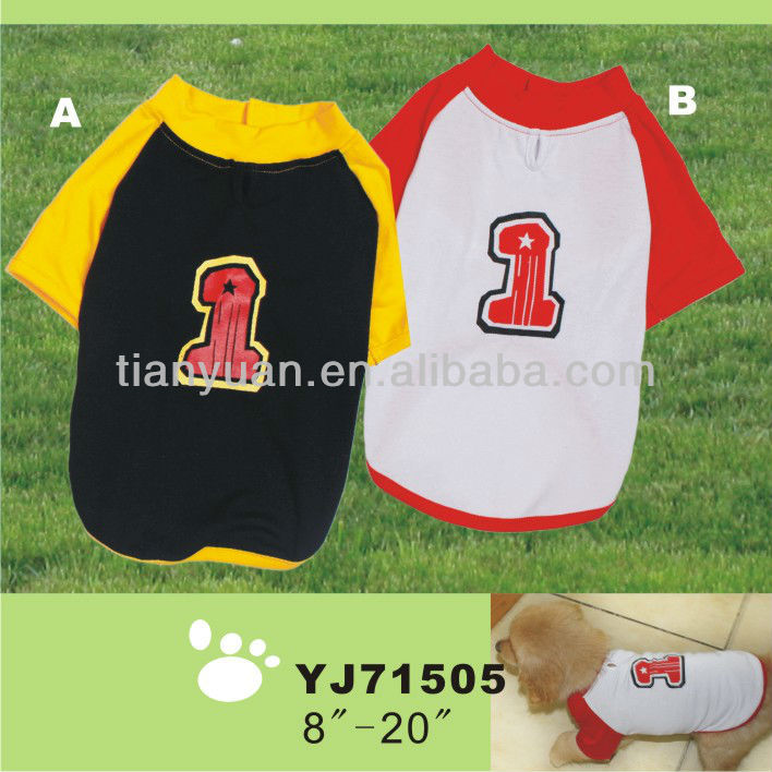 dog clothing dog T-shirt for sports(YJ71505)