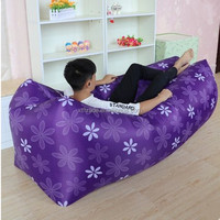 promotion gift sleeping bag camping air sofa bed inflatable laybag 2016 lamzaces