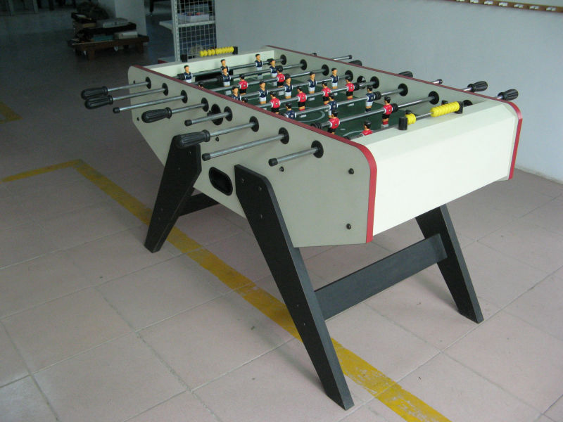 Telescopic Football Soccer Table&5ft Kicker Foosball Table with slide scorer