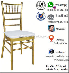 iron wedding white chairs
