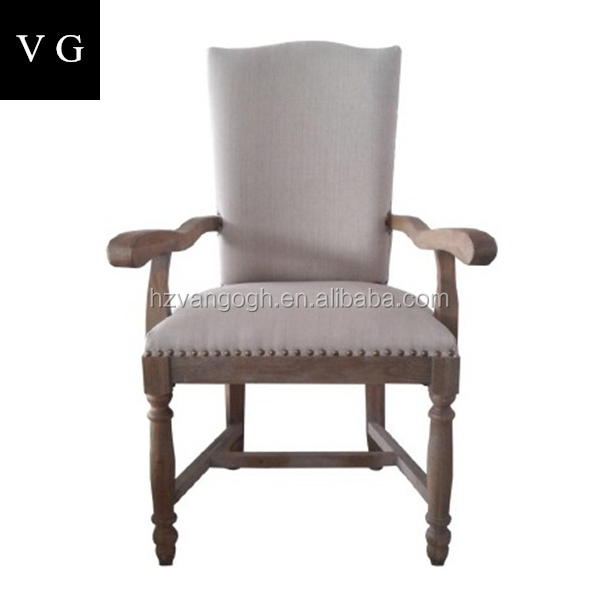 New design high back solid wood dining chair hotel furniture PU dining chair restaurant chair