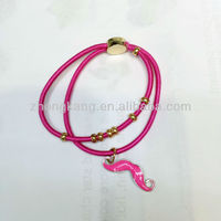 calendar 2013 colorful silk rope handmade bracelet vners with charms