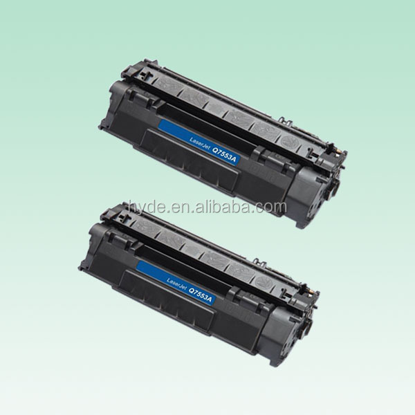 Q7553A Compatible Toner Cartridge For HP P2014 P2015 2727 Printer Spare Parts
