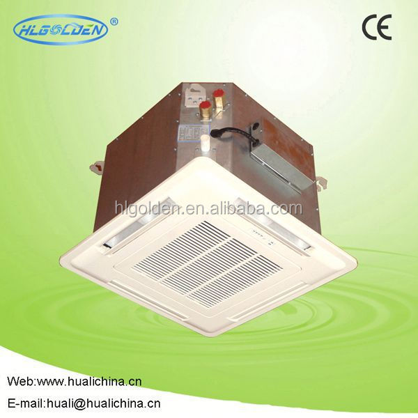 Energy saving cassette fan coil,chilled water system fan coil radiators