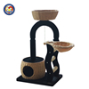 BSCI QQ Factory Deluxe Scratching Posts Cat Tree Furniture