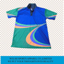 Top Quality Custom Polo Shirt Design Sublimated Polo Shirts Mens Full Sublimation Printing Polo Shirt Supplier