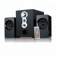 airwave hotest top quality 2.1ch multimedia speaker with surround sound system and remote control for home/laptop/computer