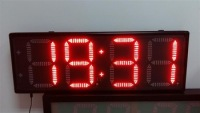 New design light led wall clock Oscarled made in China