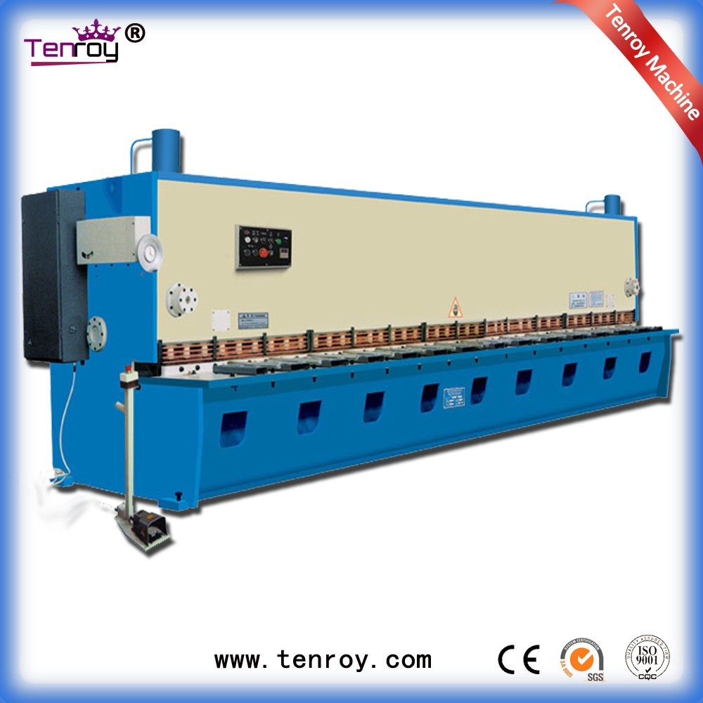 Tenroy rotary shear machine jiangsu,foot cutting machine,cnc plate cutting machine