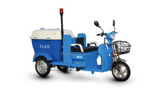 AIMA brand lead acid battery operated tricycle for garbage cleaning