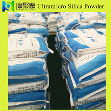 silica powder for the silicone