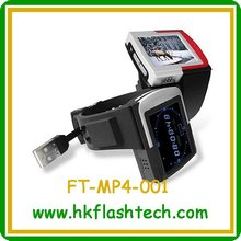Watch mp4 player with fm radio,bluetooth ,E-book reading