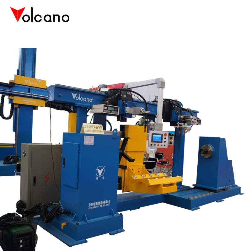 Automatic pipe joint welding machine for solar water heater production line