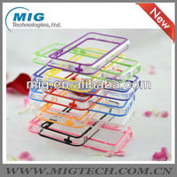 2013 New product transparent bumper case for iphone 5C, for iphone 5c back cover