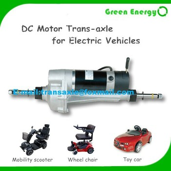24v 400w Traction Motor For Electric Wheel Chair Buy