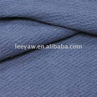 jacquard fabric with herrybone construction, made of cotton and modal rayon