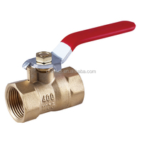 Lever Handle Forged Blow-out Proof Full Bore Brass Ball Valve(Short Stopper)
