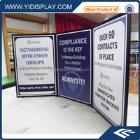 Display Panels Advertisement Partition Portable Display