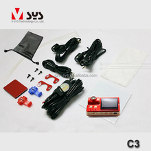 hot sale cheap auto 4s shop repair service tools taiwan motorcycle parts C3 motor bike camera double lens support GPS