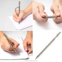 Magic multi function fancy metal spinning office toy think ink fidget ballpoint pen with magnetic