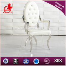 model LC12 white dining chairs for export