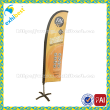 Customized Fiberglass Pole Teardrop Beach Feather Flying Flag Featured Product hot selling for advertising