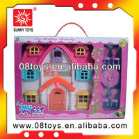 My happy family house toy plastic kids castle toys
