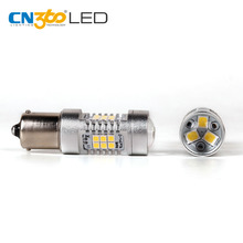Car turning light 2835 chips 10.5w py21w ba15s 1156 led bulb with projection lens